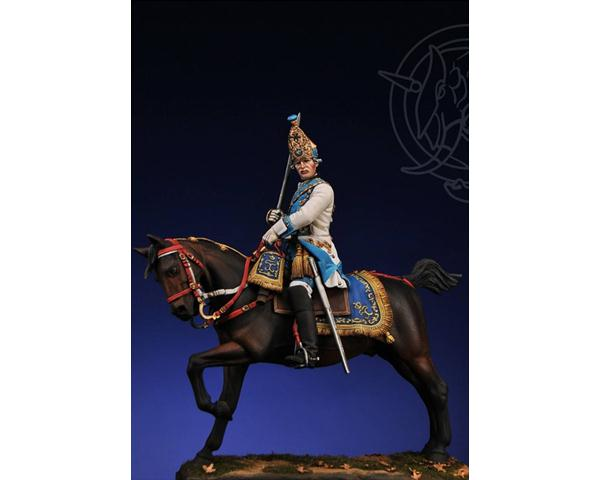ROMEO MODELS: 75 mm. ; Grenadier Officer - Life Dragon Rgt. Russia 1756/62
