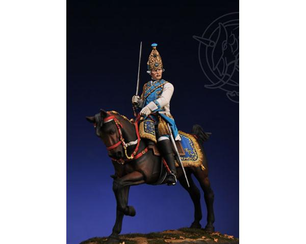 ROMEO MODELS: 75 mm.; Grenadier Officer - Life Dragon Rgt. Russia 1756/62