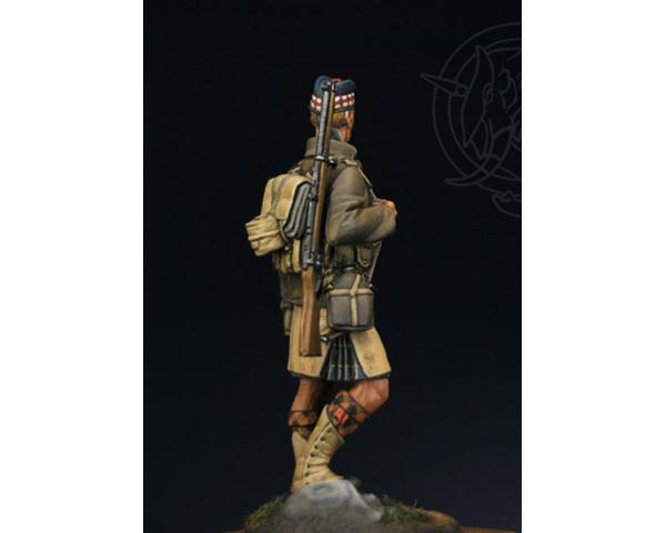 ROMEO MODELS: 54 mm. ; THE GORDON HIGHLANDERS – France/Belgium