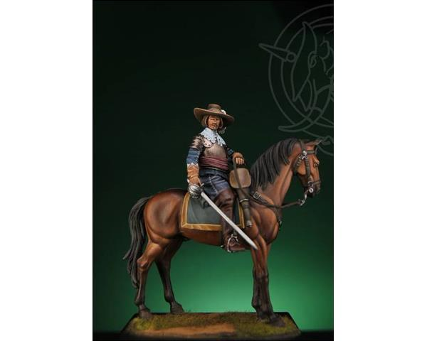 ROMEO MODELS: 54 mm. ; Spanish Cavalry Officer - 30 Years War