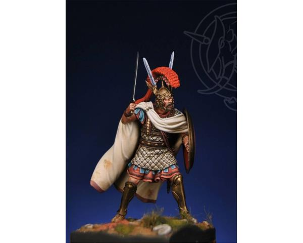 "ROMEO MODELS: 75 mm. ; ""HOSTUS"" Roman Centurion - 215 BC Second Punic War (Luxury Kit)"