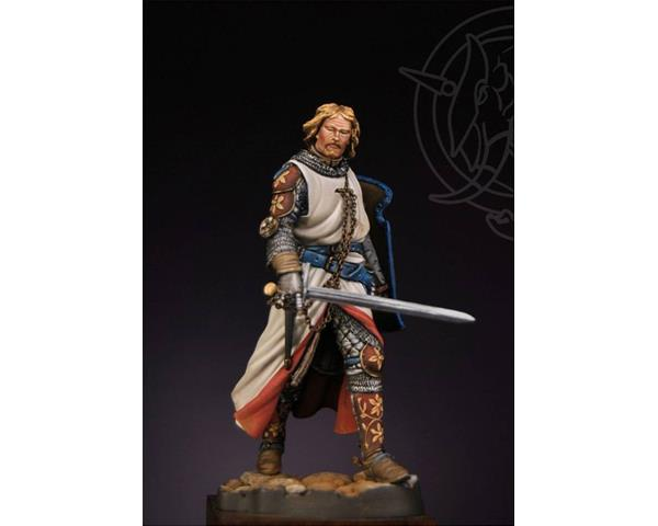 ROMEO MODELS: 75 mm.; Angevin Knight first half XIV Century