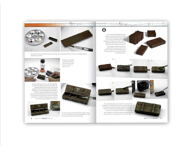AK INTERACTIVE: REALISTIC WOOD EFFECTS AK LEARNING SERIES (libro)