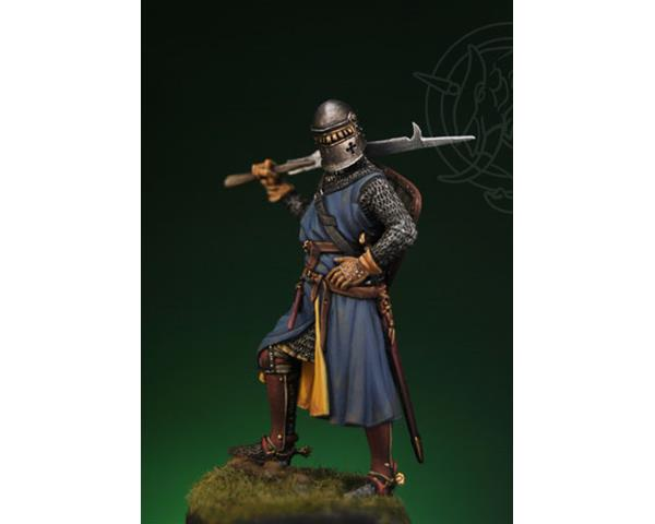 ROMEO MODELS: 54 mm. ; Medieval Knight – first half XIV century