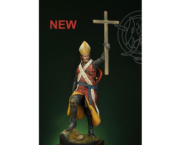 ROMEO MODELS: 75 mm.; Bishop Warrior - XIII century