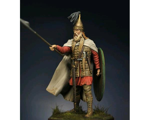 ROMEO MODELS: 75 mm. ; Celtic Chieftain V century BC 75