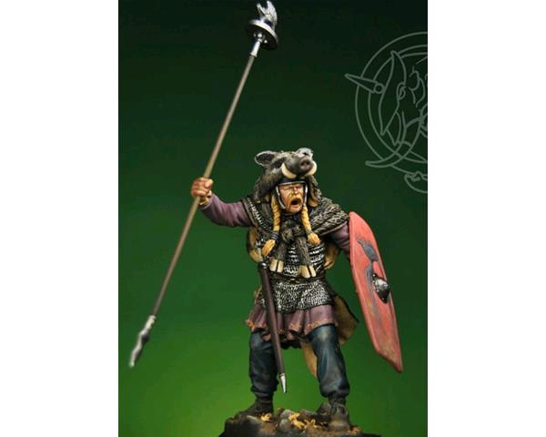 ROMEO MODELS: 75 mm. ; 75mm Gallic Chieftain with Boar Standard 1st Century B.C.