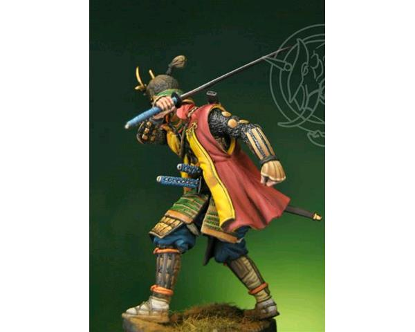 ROMEO MODELS: 75 mm. ; 75mm Samurai Warrior c.1590