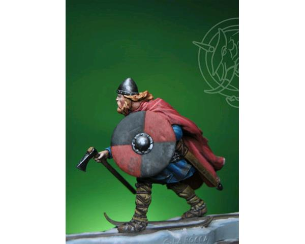 ROMEO MODELS: 54 mm. ; Viking Birkebeiner with Child