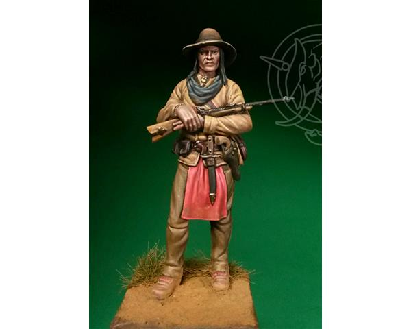 ROMEO MODELS: 54 mm. ; Scout indiano XIX secolo