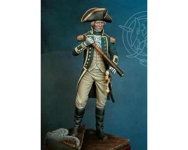ROMEO MODELS: 75 mm. ; 75mm Royal Navy Officer, 1795-1812