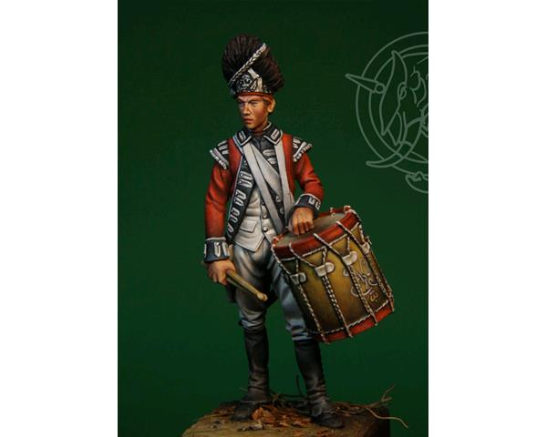 ROMEO MODELS: 75 mm. ; 75mm English Drummer - 1775/83