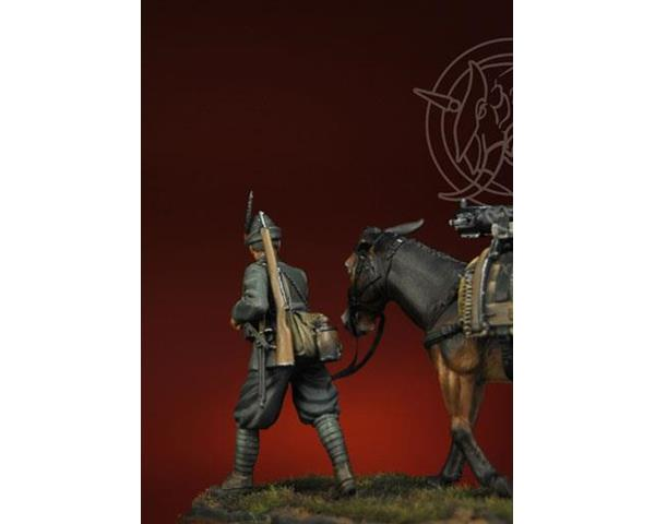 ROMEO MODELS: 54 mm. ; Alpine - Mountain Artillery 1915