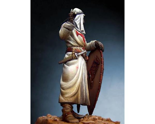 ROMEO MODELS: 54 mm. ; Holy Land Templar Knight with turban, XIII Century