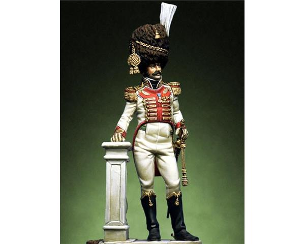 "ROMEO MODELS: 54 mm. ; Colonel of 2nd rgt. ""Veliti della Guardia"" Naples Kingdom 1814-1"