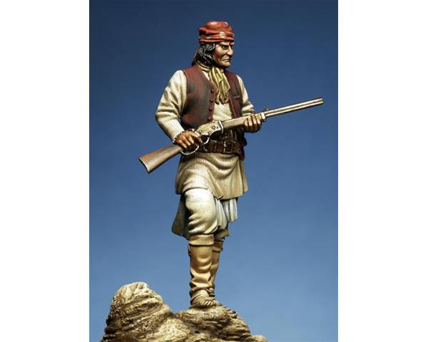 ROMEO MODELS: 54 mm. ; Geronimo (Goyathlay) 1829 – 1909 (Apache Leader)