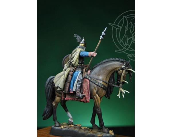 ROMEO MODELS: 54 mm. ; Magyar Cheaftain, first half 10th Century - 54mm scale