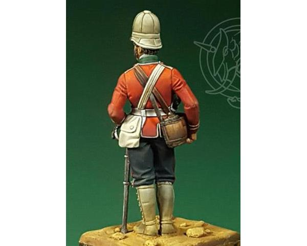 ROMEO MODELS: 54 mm. ; Officer – 24th Regiment of Foot – Zulu Wars