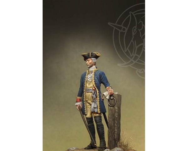 ROMEO MODELS: 54 mm. ; Officer 4th Infantry Rgt. - Prussia 1756-63