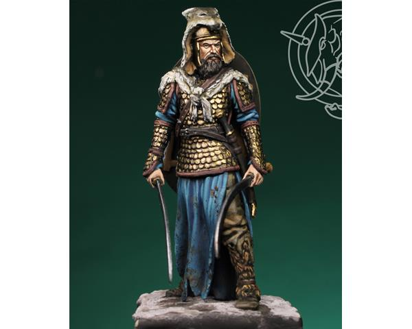 ROMEO MODELS: 54 mm. ; Dacian warrior with falxes, 2nd century AD