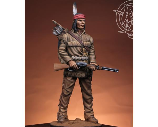 ROMEO MODELS: 54 mm. ; Guerriero Navajo 1883