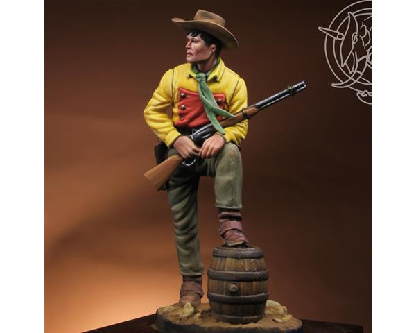 ROMEO MODELS: 54 mm. ; YoungTexas Ranger 1883