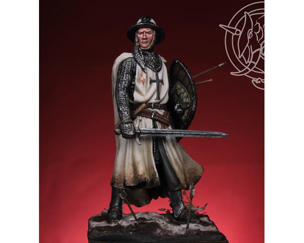 ROMEO MODELS: 54 mm. ; Templar / Teutonic Knight XIII cent. (with two helmets)