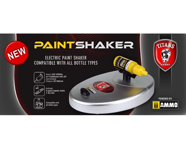 TITANS HOBBY: Electric Paint Shaker compatible with all kind of pots