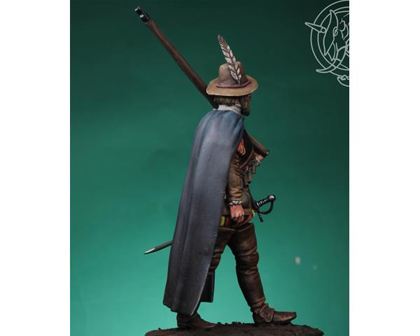 ROMEO MODELS: 54 mm. ; Arquebusier of the Tercios, 1585