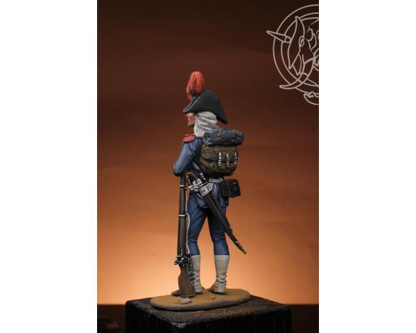 ROMEO MODELS: 54 mm.; French Carabinier 21me Demi Brigade Legere  Egypt 1898