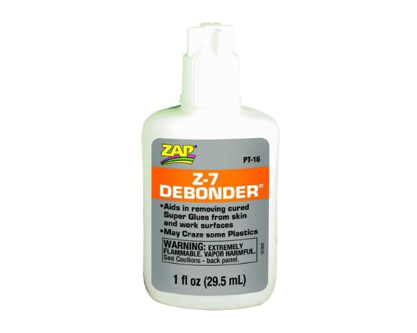ZAP 1 fl. oz. (29.5 ml.) Z-7 Debonder