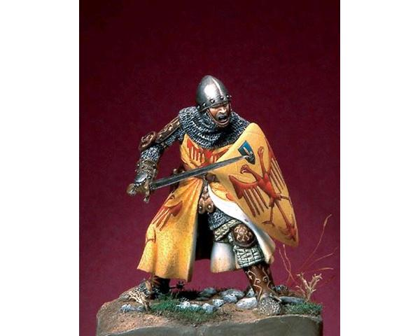 ROMEO MODELS: 54 mm. ; Italian Knight - End XIII / Beginning XIV Century