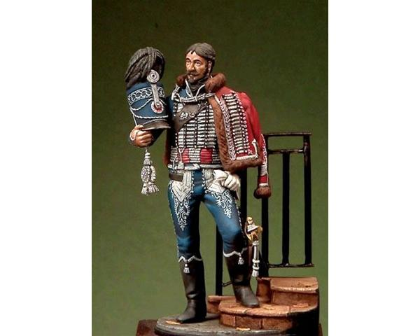 ROMEO MODELS: 54 mm. ; Captain of the Ussars - Reign of Naples 1815-1820