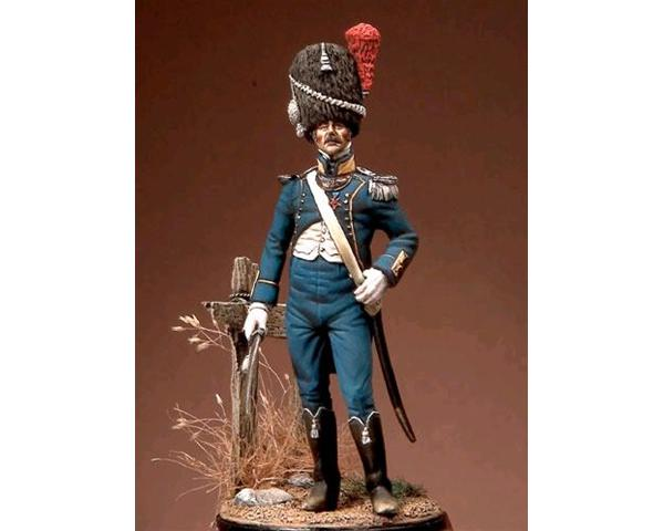 ROMEO MODELS: 54 mm. ; Lieutenant of Light Infantry - Reign of Naples 1815-1820