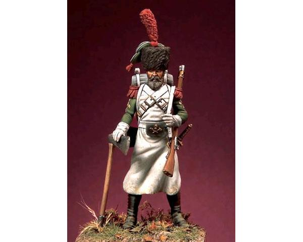 ROMEO MODELS: 54 mm. ;  Neapolitan Sapper - Reign of Naples (1815-1820)