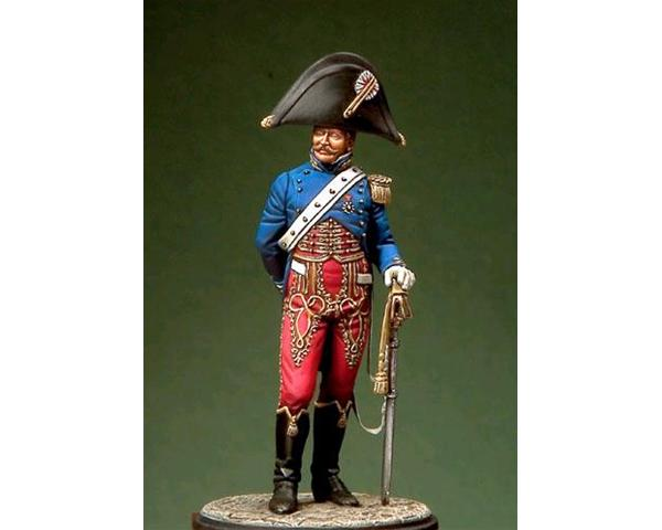 ROMEO MODELS: 54 mm. ; Captain of General Staff-Reign of Naples (1811-1815)