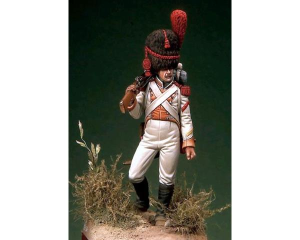 ROMEO MODELS: 54 mm. ; Grenadier of Line Infantry - Reign of Naples (1815-20)