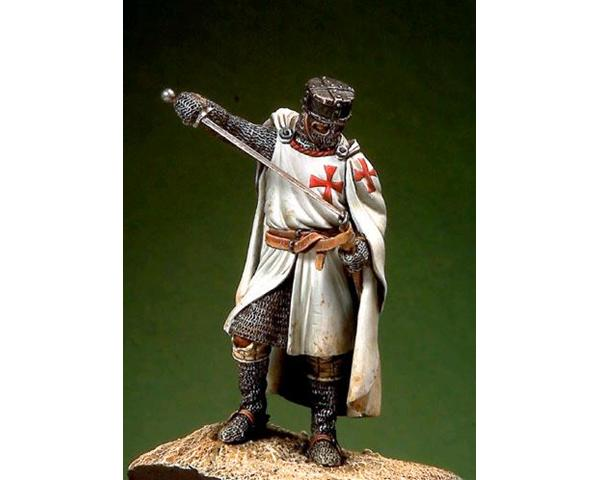 ROMEO MODELS: 54 mm. ; Knight Templar - XIII Century