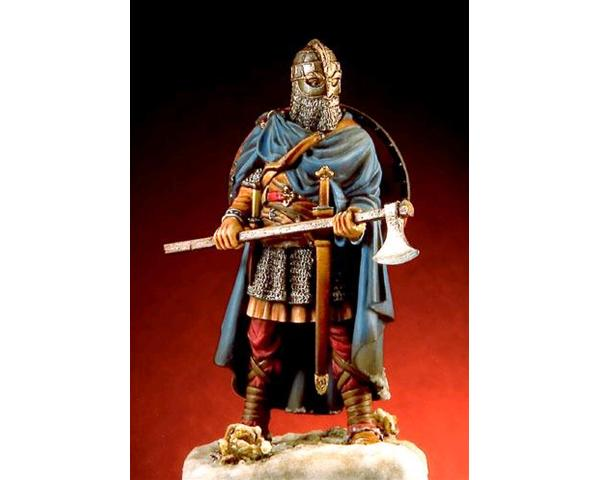ROMEO MODELS: 54 mm. ; Anglo Saxon Warrior with axe - VII Century A.D.