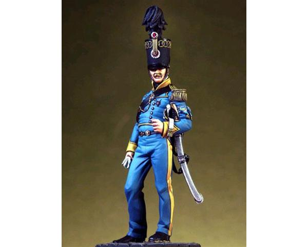 ROMEO MODELS: 54 mm. ; Aide-de-Camp of The General Staff of Murat - Naples Kingdom 1813