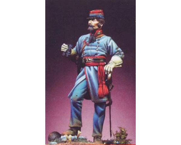 ROMEO MODELS: 54 mm. ; Lieutenant of the Confederate Artillery, 1862