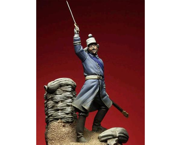 ROMEO MODELS: 54 mm. ; Infantry subaltern, 1855
