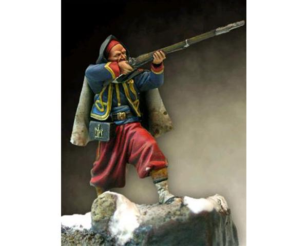 ROMEO MODELS: 54 mm. ; Zuavo della guardia - Crimea 1854-56