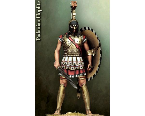 ROMEO MODELS: 54 mm. ; (Hoplite) Etruscan of the PO valley
