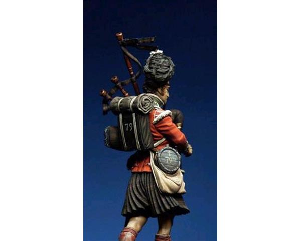 "ROMEO MODELS: 75 mm. ; 79th Rgt. of Infantry ""The Cameron Highlanders"" Piper Kenneth"