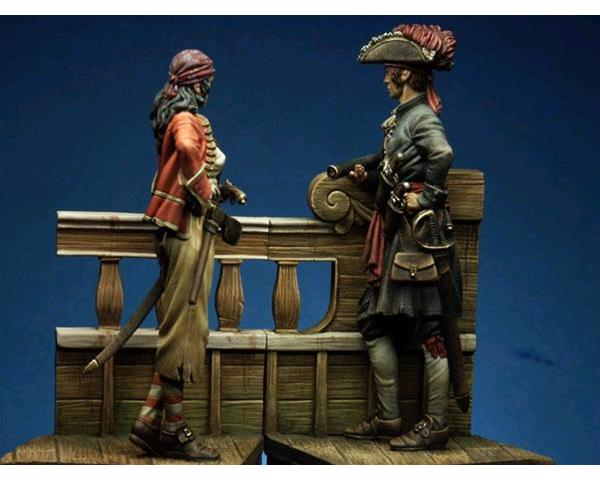 "ROMEO MODELS: 75 mm. ; The complete Scene ""Over the Ship"""