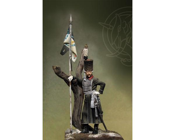 ROMEO MODELS: 54 mm. ; Bosnian Lancers Officer - Prussia 1762