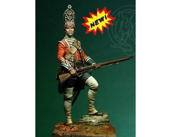ROMEO MODELS: 75 mm.; Granatiere Inglese - 18th Foot - 1751