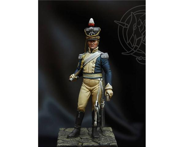 ROMEO MODELS: 54 mm. ; R. Sergeant Major - Light Dragoon 1815