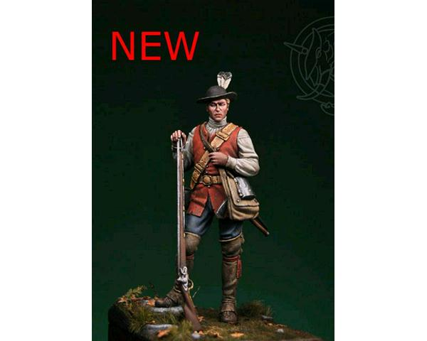 ROMEO MODELS: 75 mm. ; 60th Royal American Rgt of Foot - 1757